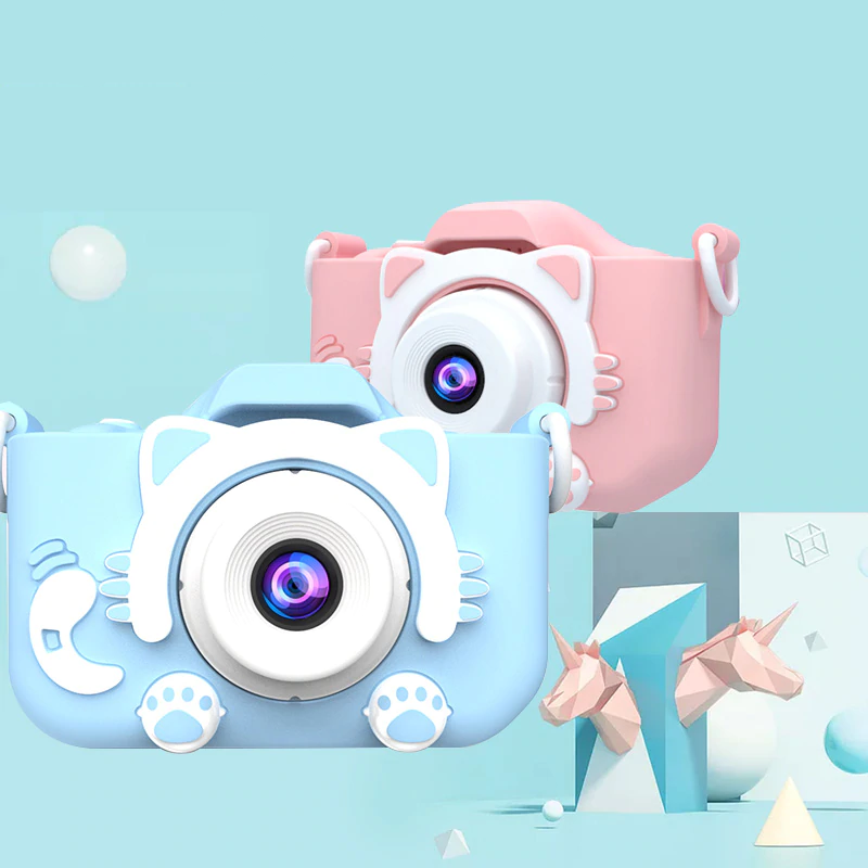X5S Children's Mini Camera Rechargeable Cute Kid's Toy For Birthday Gift