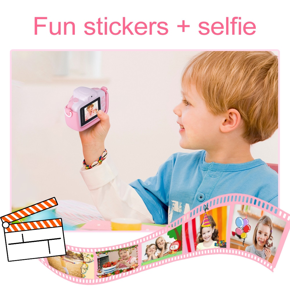 Mini Children's Camera 1080P HD Video Kids Toy Gift For Birthday 5