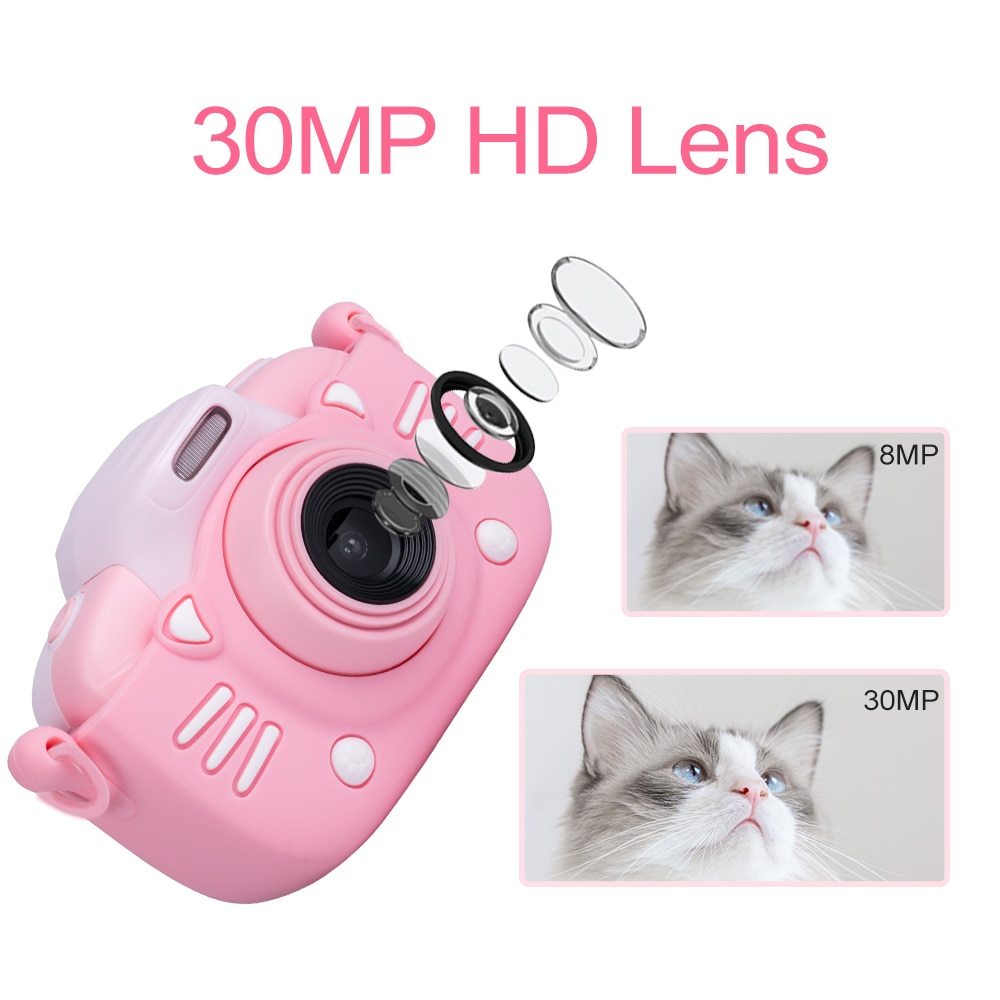 Mini Children's Camera 1080P HD Video Kids Toy Gift For Birthday 2