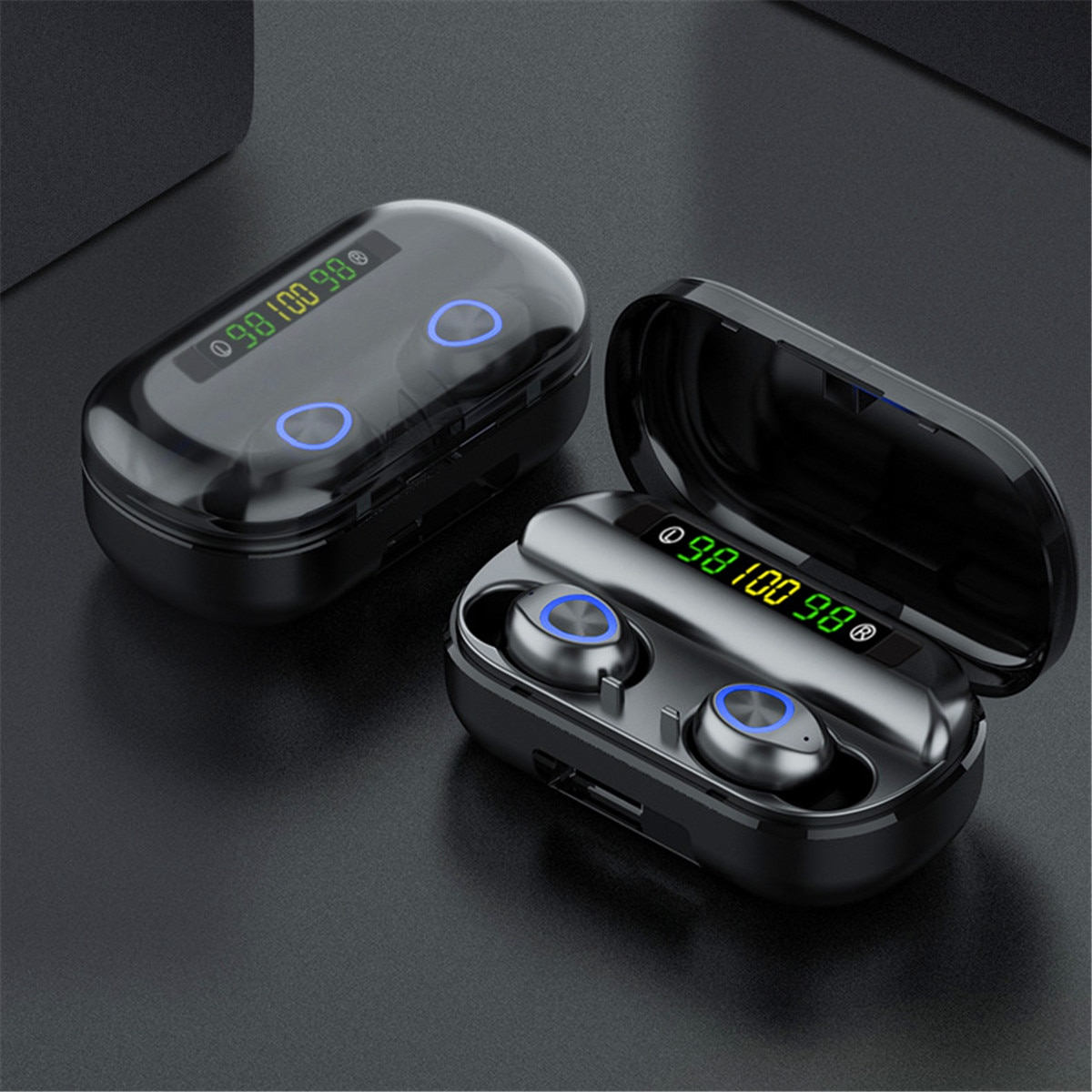 TWS True Wireless Earbuds Bluetooth V5.0 4000mAh Waterproof Active Noise-Cancellation 1