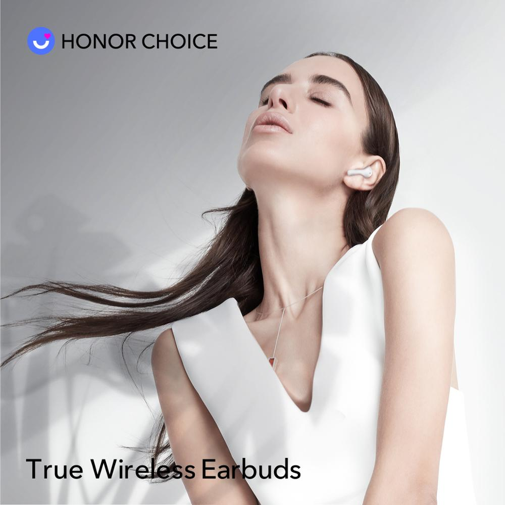 Honor X1 TWS Earbuds Wireless Bluetooth 5.0 Noise Cancellation TWS Earbuds Dual Microphone calls SBC & AAC 24H Gametime 2