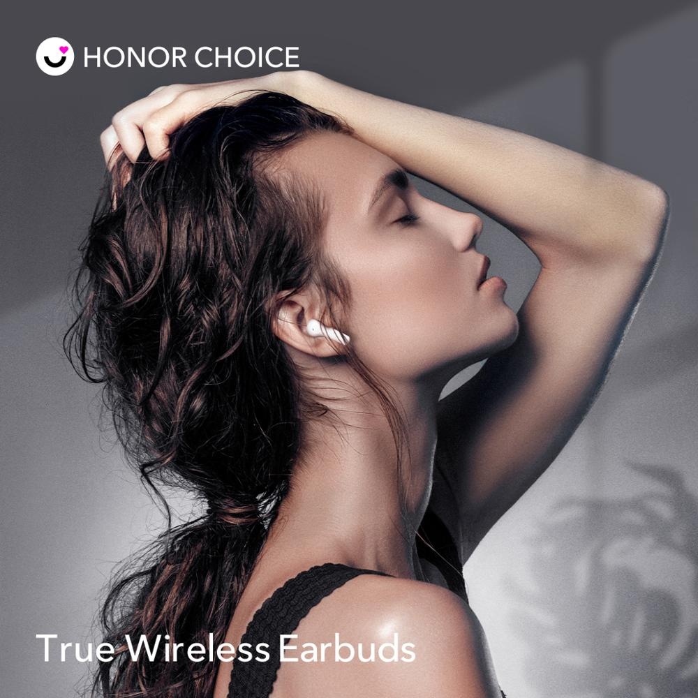 Honor X1 TWS Earbuds Wireless Bluetooth 5.0 Noise Cancellation TWS Earbuds Dual Microphone calls SBC & AAC 24H Gametime 3