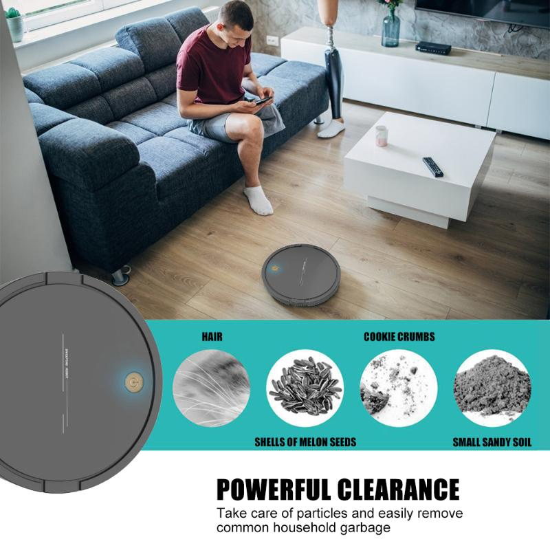 Alloet DA628 Intelligent Robot Vacuum Cleaner USB Charging 2