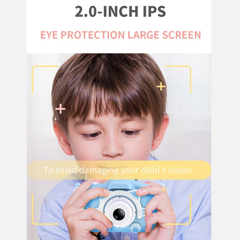 X5S Children's Mini Camera Rechargeable Cute Kid's Toy For Birthday Gift 5