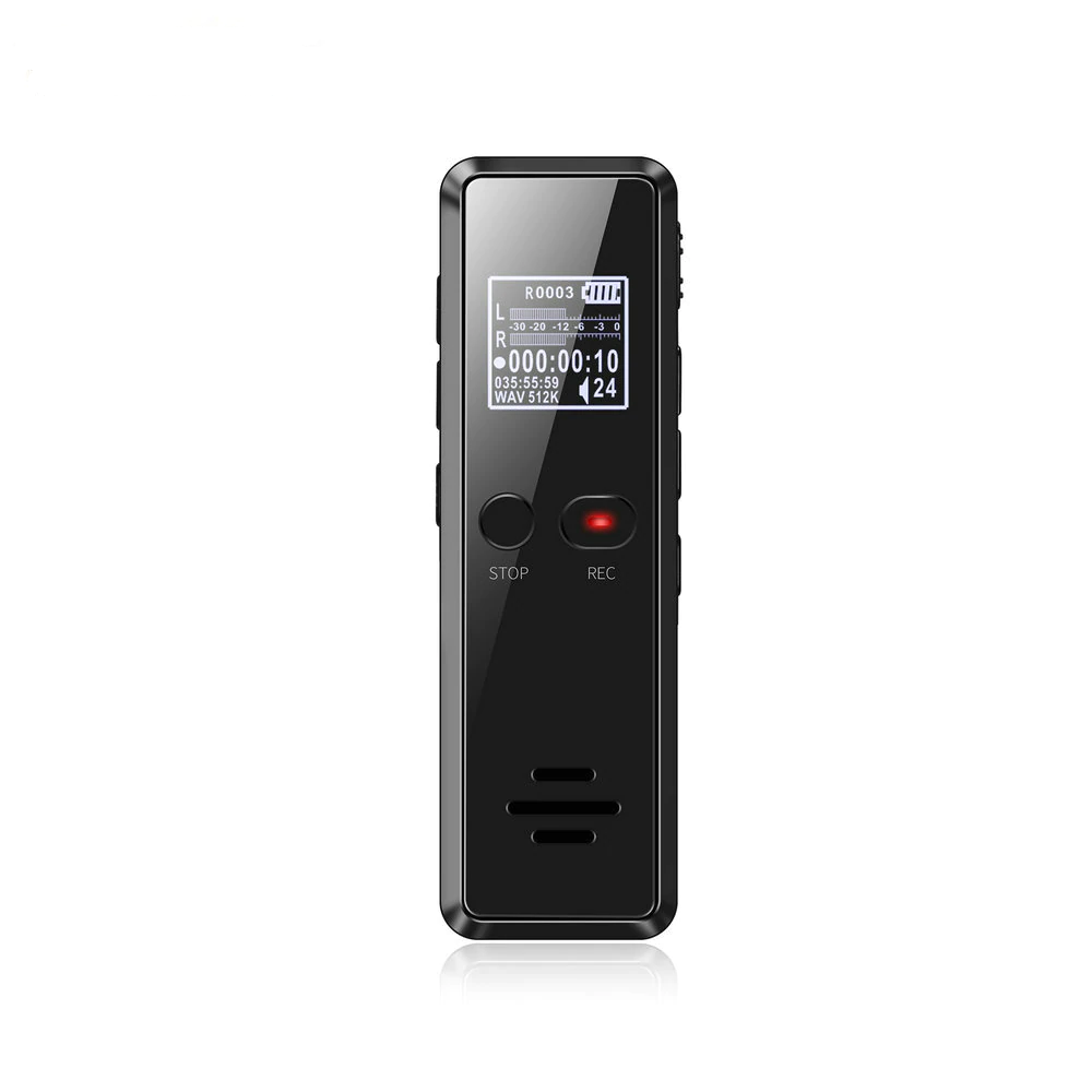Vandlion V90 Digital Camera Voice Activated Recorder Audio MP3 Player WAV Noise Reduction