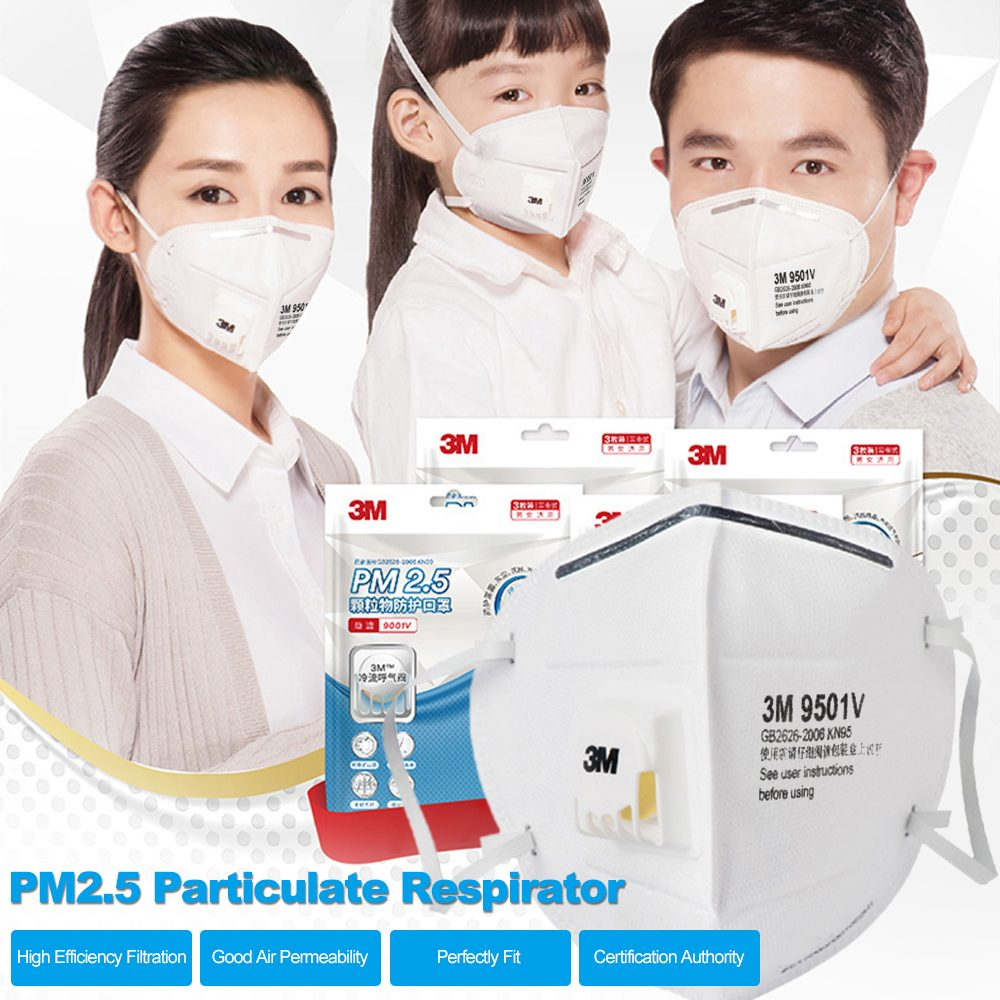 3m 9501v n95 mask particulate respirator kn95 face mask 4