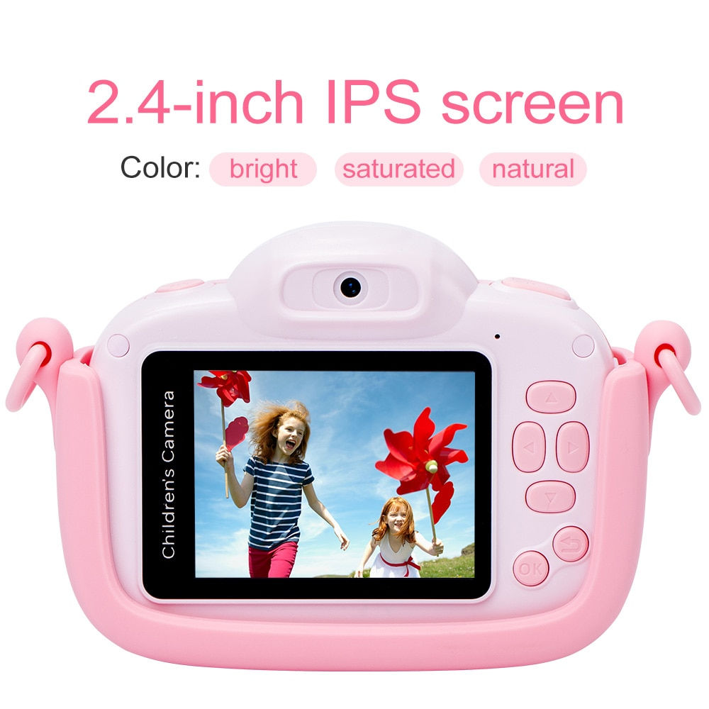 Mini Children's Camera 1080P HD Video Kids Toy Gift For Birthday 4