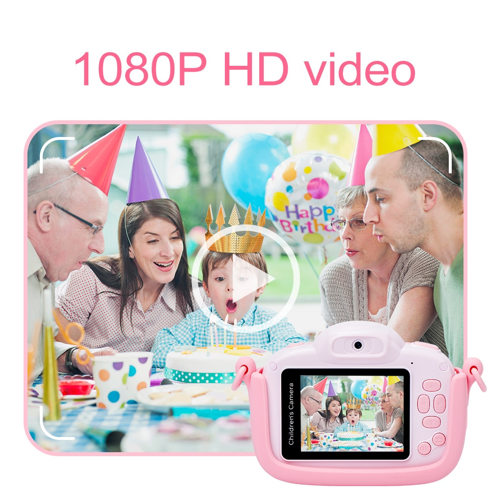 Mini Children's Camera 1080P HD Video Kids Toy Gift For Birthday 3