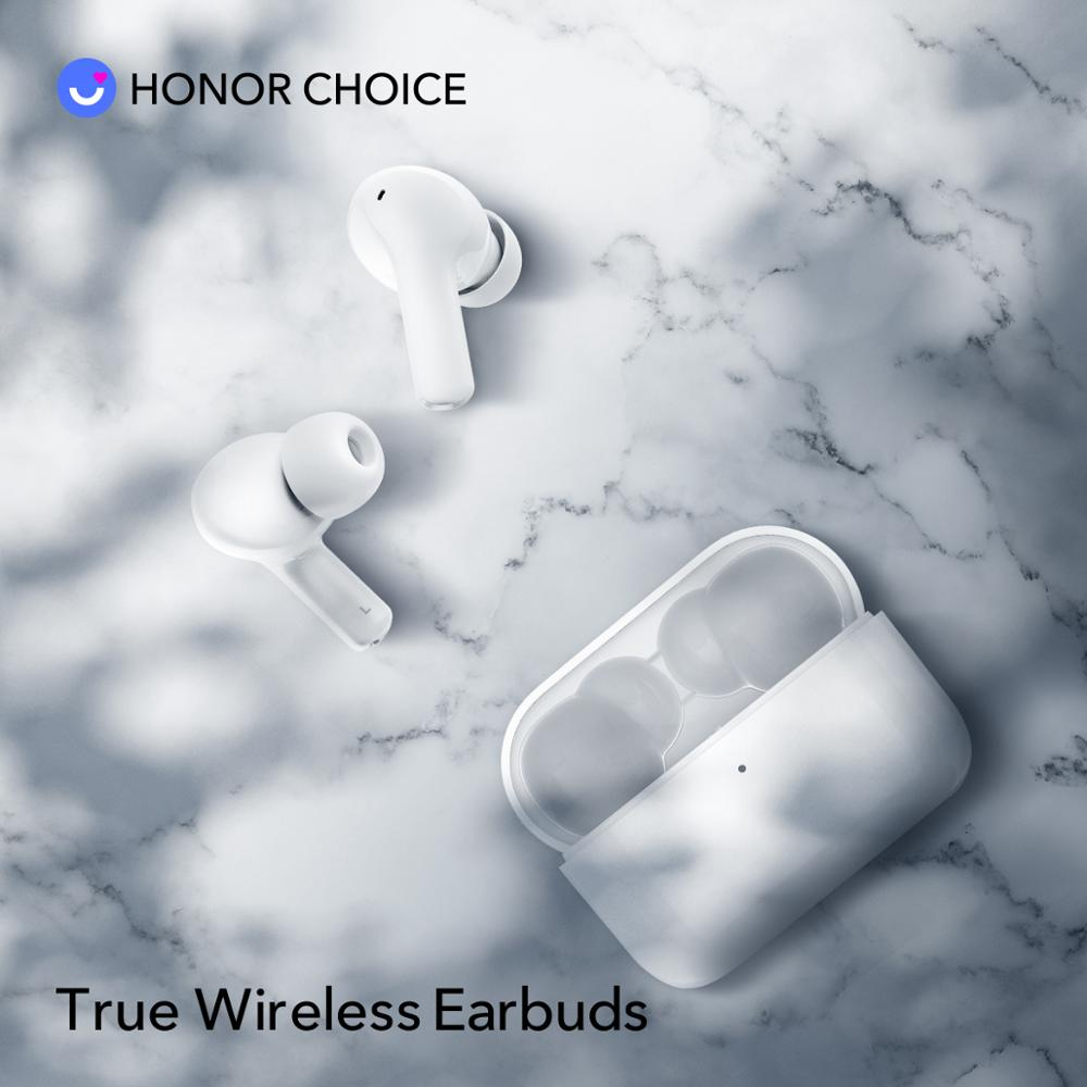 Honor X1 TWS Earbuds Wireless Bluetooth 5.0 Noise Cancellation TWS Earbuds Dual Microphone calls SBC & AAC 24H Gametime 4