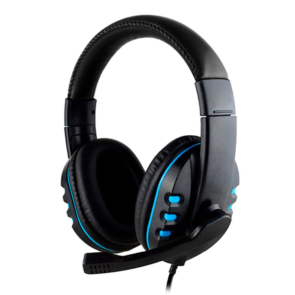 wired gaming headset deep bass game with microphone 1