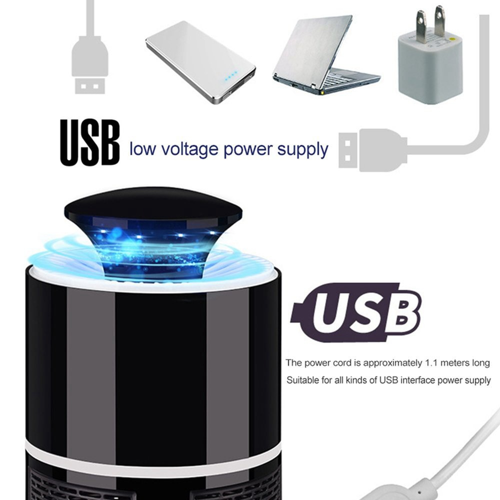 USB Powered Led Electric Mosquito Killer Lamp – Quiet + Non-Toxic 3