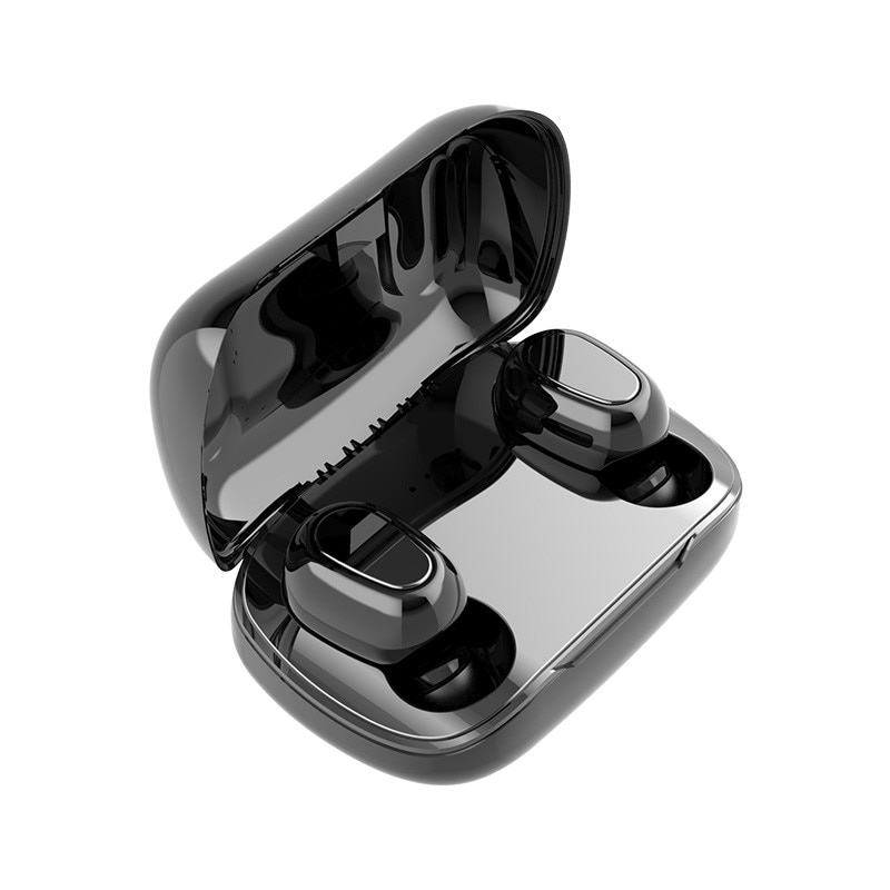 L21 True HIFI Wireless Bluetooth 5.0 Headphones Sport Twins 3D Earbuds Portable Magnetic Charging Box 2