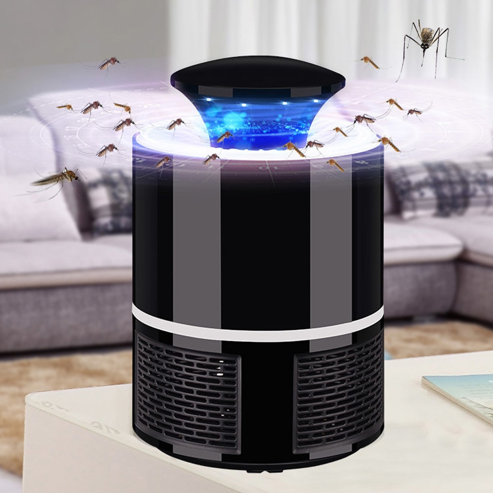 USB Powered Led Electric Mosquito Killer Lamp – Quiet + Non-Toxic 5