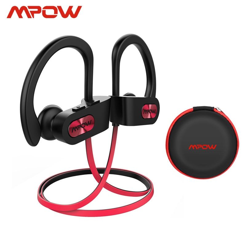 Mpow Flame IPX7 Waterproof Bluetooth 4.1 HiFi Stereo Noise Cancelling Headphones with Mic 1