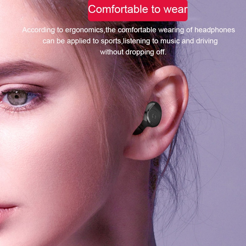 True Wireless Earbuds Bluetooth V5.0 LED Display IPX7 Waterproof with Power Bank 6